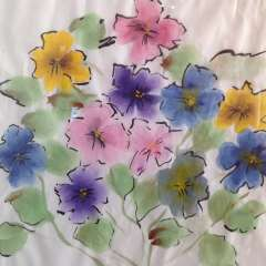 Watercolour on rice paper